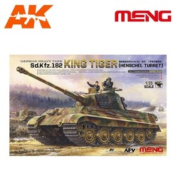 German Heavy Tank Sd.Kfz.182 King Tiger (Henschel Turret) - Scale 1/35 - Meng Models - MM TS-031