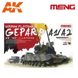 German Flakpanzer Gepard A1/A2 - Scale 1/35 - Meng Models - MM TS-030