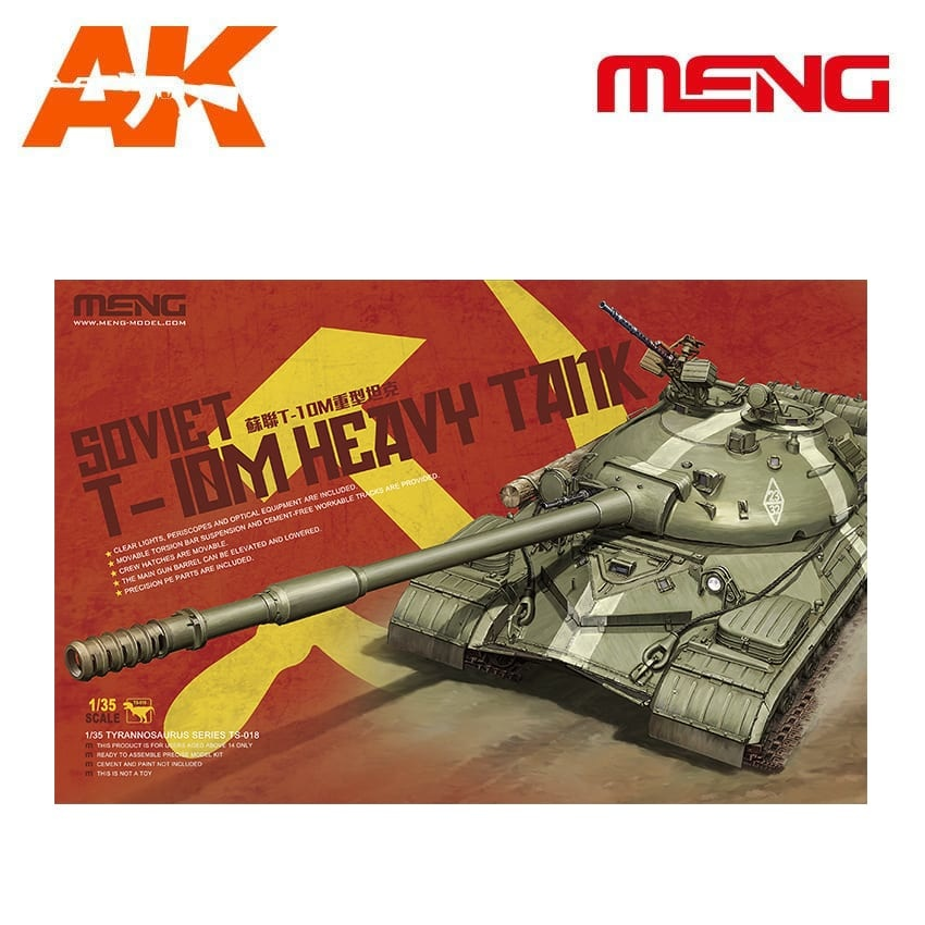 Meng Models Soviet T-10M Heavy Tank - Scale 1/35 - Meng Models - MM TS-018