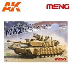U.S. Main Battle Tank M1A2 Sep Abrams Tusk I/Tusk Ii - Scale 1/35 - Meng Models - MM TS-026