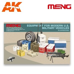 Equipment for modern U.S. Military vehicles - Scale 1/35 - Meng Models - MM SPS-014