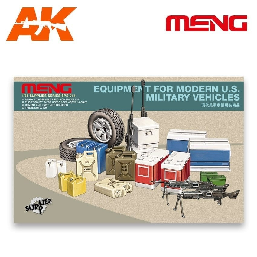 Meng Models Equipment for modern U.S. Military vehicles - Scale 1/35 - Meng Models - MM SPS-014