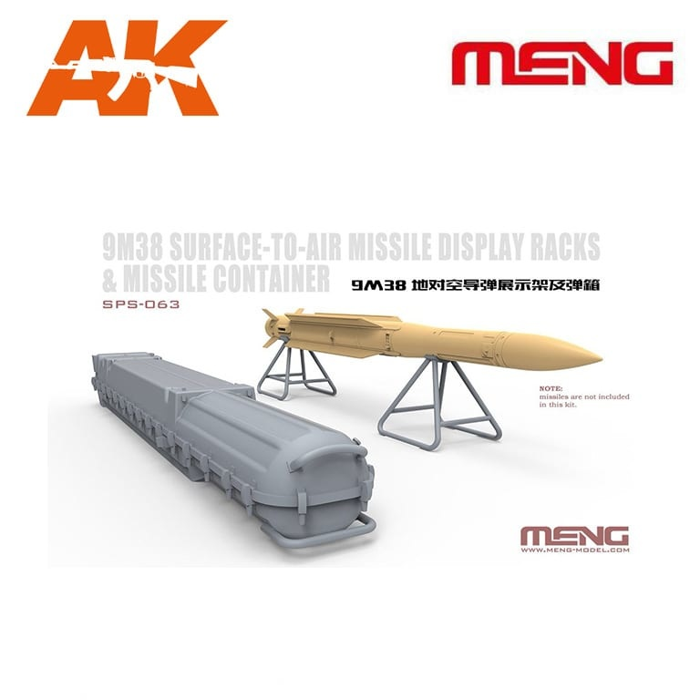 Meng Models Russian 9M38 Surface-to-air Missile Display - Scale 1/35 - Meng Models - MM SPS-063