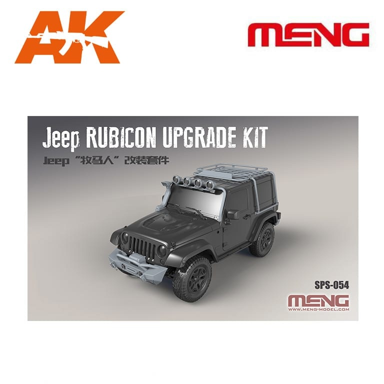 Meng Models Jeep Rubicon Upgrade Kit (Resin) - Scale 1/24 - Meng Models - MM SPS-054