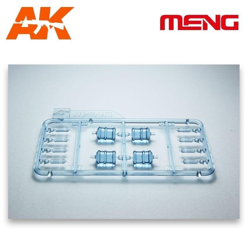 Meng Models Water Bottles for Vehicle/Diorama - Scale 1/35 - Meng Models - MM SPS-010