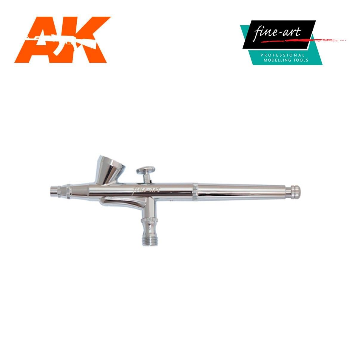 Fine Art Airbrush Set 136A 0.2, 0.3, 0.5mm - Fine Arts - FA 136AT