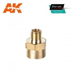 """Connector A4 1,8"""" male - 1,4"""" female - Fine Art - FA 634"""