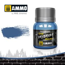 Drybrush Blue - 40ml - Ammo by Mig Jimenez - A.MIG-0615