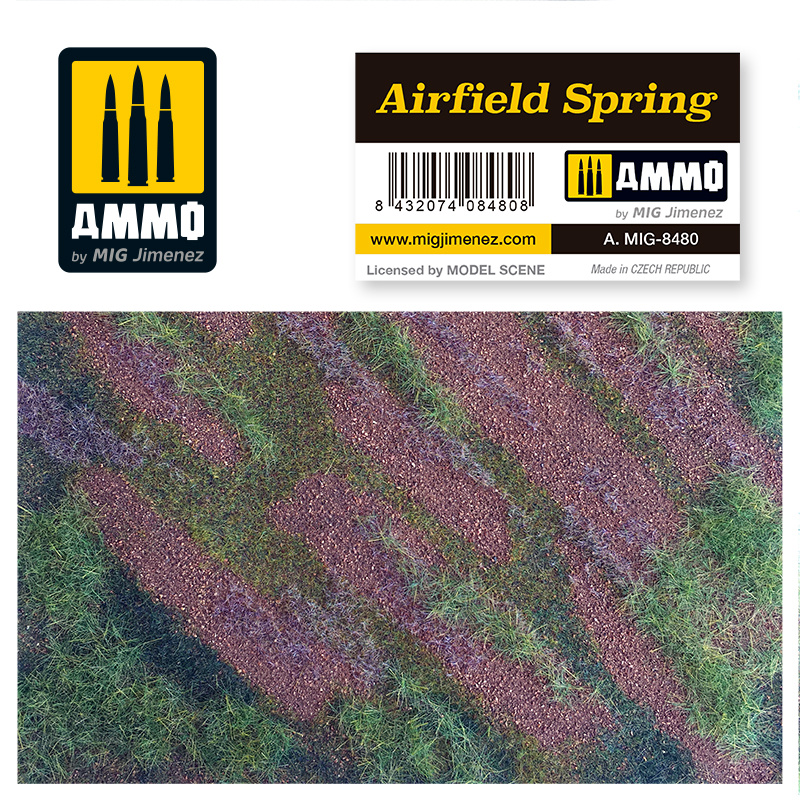 Ammo by Mig Jimenez Airfield Spring - Ammo by Mig Jimenez - A.MIG-8480