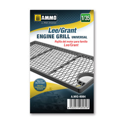Lee/Grant engine grille universal - Ammo by Mig Jimenez - A.MIG-8084
