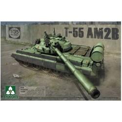 DDR Medium Tank T-55 AM2B - Scale 1/35 - Takom - TAKO2057