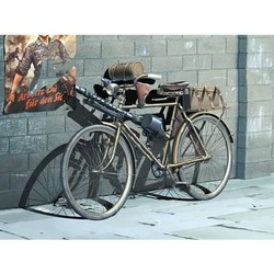 German Military Bicycle, WWII Era - Scale 1/35 - Masterbox - MBLTD35165