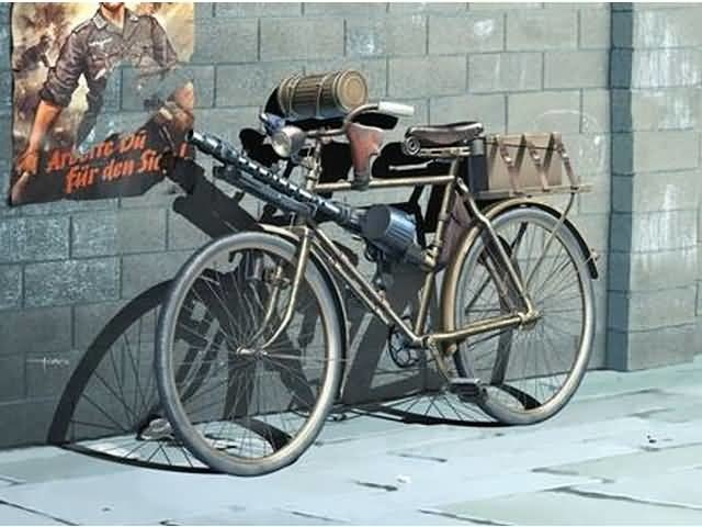 Masterbox German Military Bicycle, WWII Era - Scale 1/35 - Masterbox - MBLTD35165