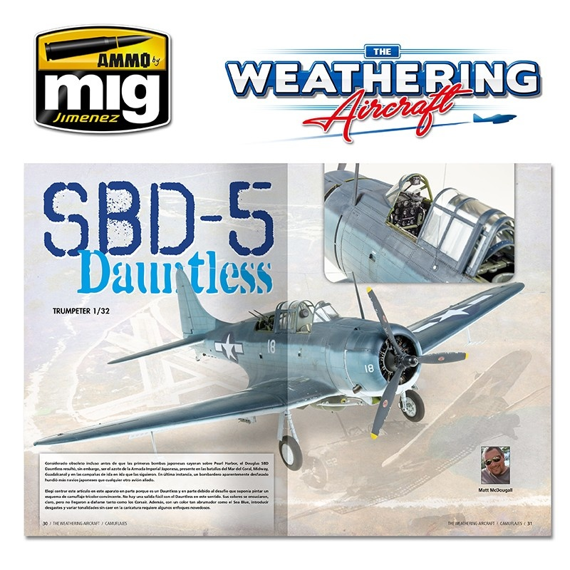 The Weathering Aircraft The Weathering Aircraft - Issue 6. Camouflage - English - A.MIG-5206