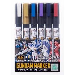 Gundam Marker Advanced Set - Mr Hobby - Gunze - MRH-AMS-124
