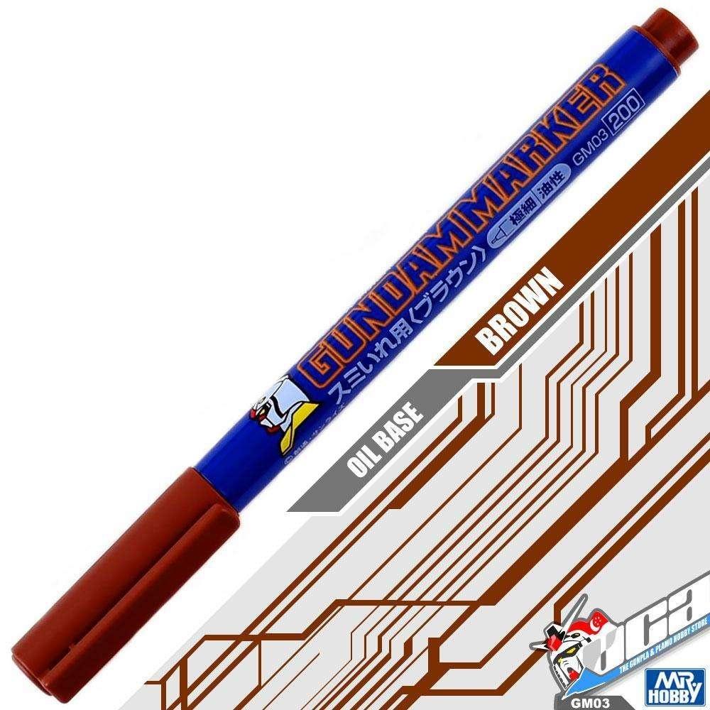 Mr Hobby / Gunze Brown Liner Type - Mr Hobby - Gunze - MRH-GM-03