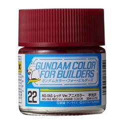 Gundam Color For Builders Ms-06S Red Ver. - Mr Hobby - Gunze - MRH-UG-22