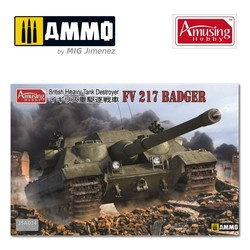 Fv217 Badger - Scale 1/35 - Amusing Hobby - AH35A034