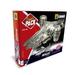 Metallics. Super Pack - Ammo by Mig Jimenez - A.MIG-7809