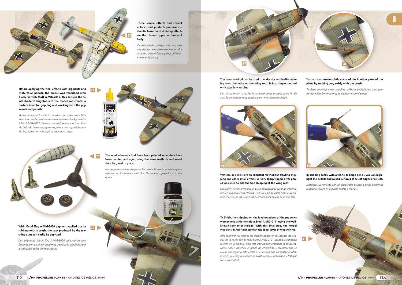 Ammo by Mig Jimenez Propeller Planes 1/144 Vol. 1 English, Spanish - Ammo by Mig Jimenez - A.MIG-6144