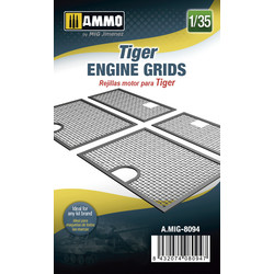 Tiger Engine Grids - Scale 1/35 - Ammo by Mig Jimenez - A.MIG-8094