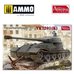 Panzerkampfwagen Vk72.01(K) - Scale 1/35 - Amusing Hobby - AH35A007