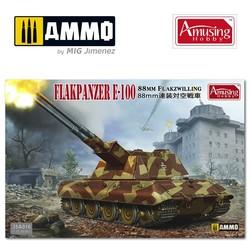 8,8Cm Flakpanzer E-100 - Scale 1/35 - Amusing Hobby - AH35A016
