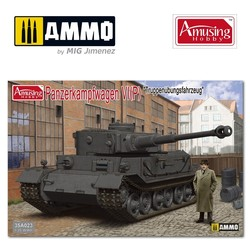 """Pz.Kpfwg.Vi Tiger(P) """"Truppenübfahrzeug"""" - Scale 1/35 - Amusing Hobby - AH35A023"""