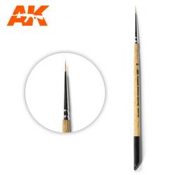 Ak Premium Siberian Kolinsky Brush 2/0 - AK-Interactive - AK-SK-2/0