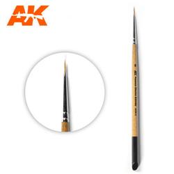 Ak Premium Siberian Kolinsky Brush 0 - AK-Interactive - AK-SK-0