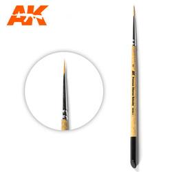 Ak Premium Siberian Kolinsky Brush 1 - AK-Interactive - AK-SK-1