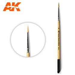 Ak Premium Siberian Kolinsky Brush 2 - AK-Interactive - AK-SK-2
