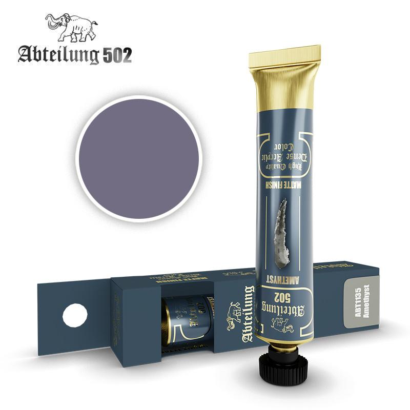 Abteilung 502 Amethyst - High Quality Dense Acrylic Colors - 20ml - Abteilung 502 -  ABT1135