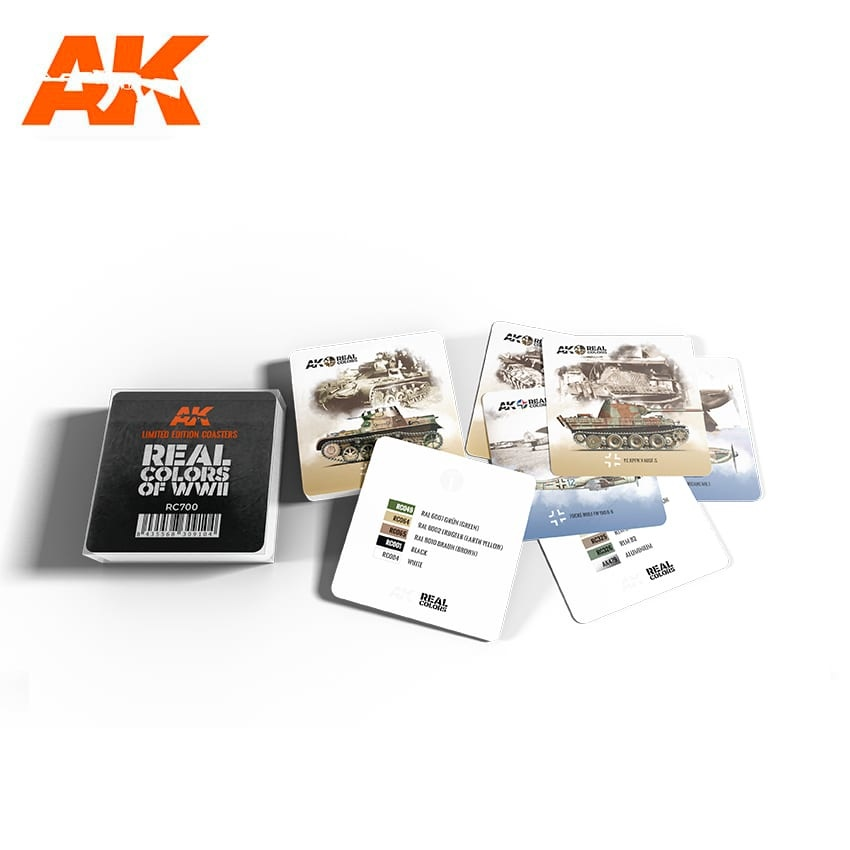 AK-Interactive Real Colors Coasters - Limited Edition - AK-Interactive - RC700