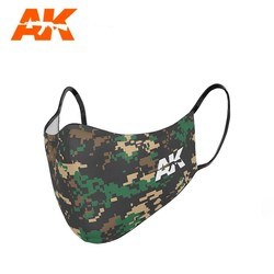 Face Mask Classic Camouflage 03 - AK-Interactive - AK-9158