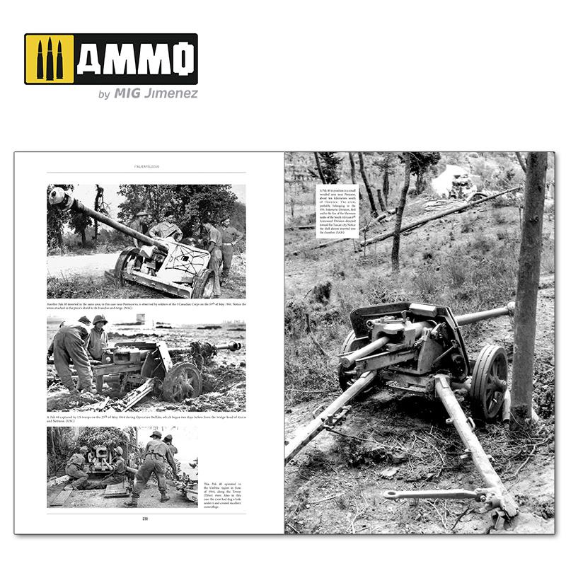 Ammo by Mig Jimenez Italienfeldzug. German Tanks And Vehicles 1943-1945 Vol.2 English - Ammo by Mig Jimenez - A.MIG-6263