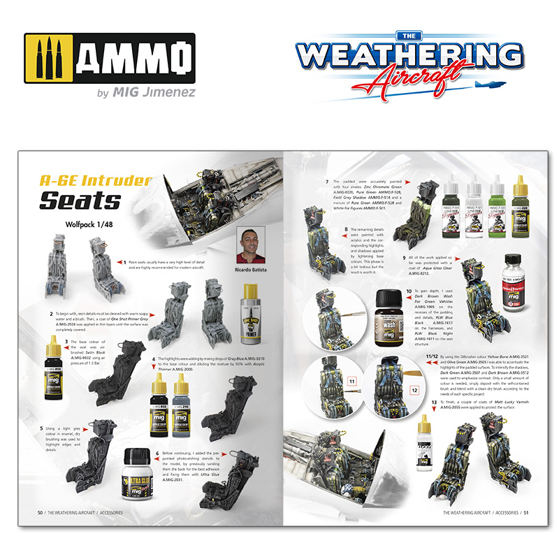 Ammo by Mig Jimenez The Weathering Aircraft Issue 18. Accessories English - Ammo by Mig Jimenez - A.MIG-5218