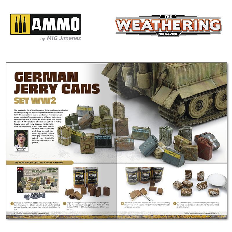 Ammo by Mig Jimenez The Weathering Magazine Issue 32. Accessories English - Ammo by Mig Jimenez - A.MIG-4531
