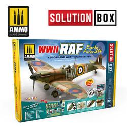 WWII Raf Early Aircraft Solution Box - Ammo by Mig Jimenez - A.MIG-7722