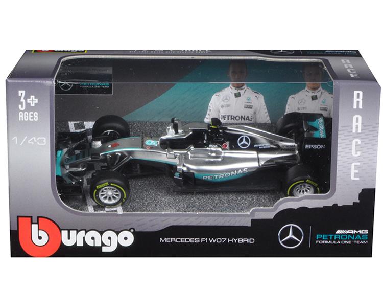 Bburago F1 2016 Mercedes Amg Team Lewis Hamilton - Scale 1/43 - Bburago - BBO18-38026
