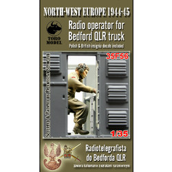 Radio Operator for Bedford QLR Truck - Scale 1/35 - Toro Model - TOR35F56