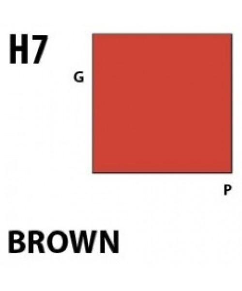 Mr Hobby / Gunze Aqueous Hobby Color Brown - 10ml - Mr Hobby / Gunze - MRH-H-007