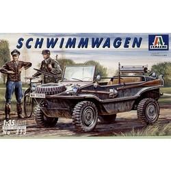 "Kfz. II VW Typ 166 """"Schwimmwagen"""" - Scale 1/35 - Italeri - ITA-0313"