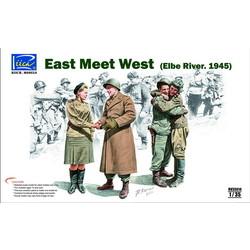 East Meet West Elbe River 1945 - Scale 1/35 - Riich Models - RIH 35014