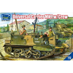 Universal Carrier MK.I with Crew - Scale 1/35 - Riich Models - RIH 35011