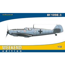 BF-109E-3 - Scale 1/32 - Eduard - EDD 3402