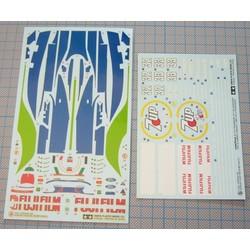 Decal Set Jordan 191 (TAM20032) 1402198 - Scale 1/20 - Tamiya - TAM20032D