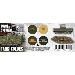 WWI German Tank Colors Set - AK-Interactive - AK-11686
