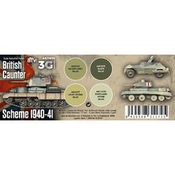 British Caunter Scheme 1940-1941 Set - AK-Interactive - AK-11676