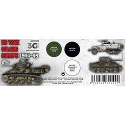 US Tank Colors Europe 1944-45 Set - AK-Interactive - AK-11675